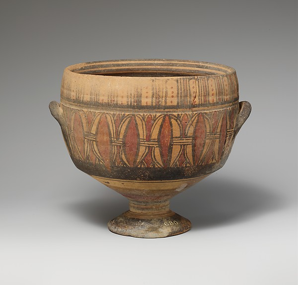 Terracotta kylix (cup)