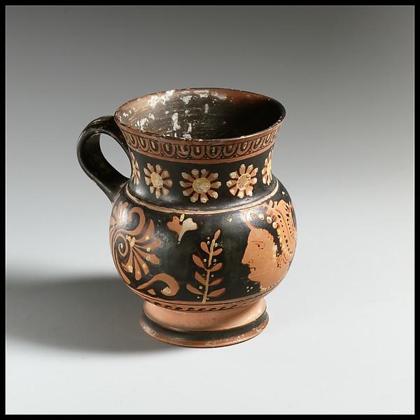 Terracotta mug