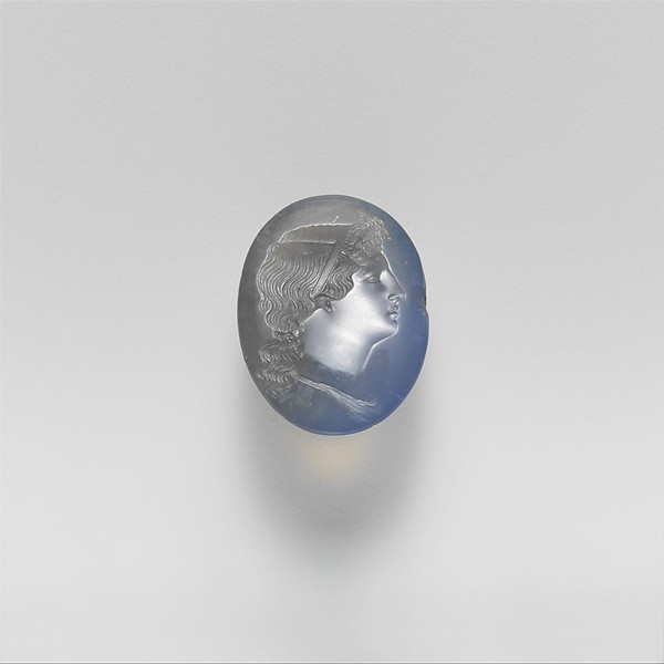 Chalcedony oval