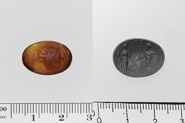 Carnelian ring stone