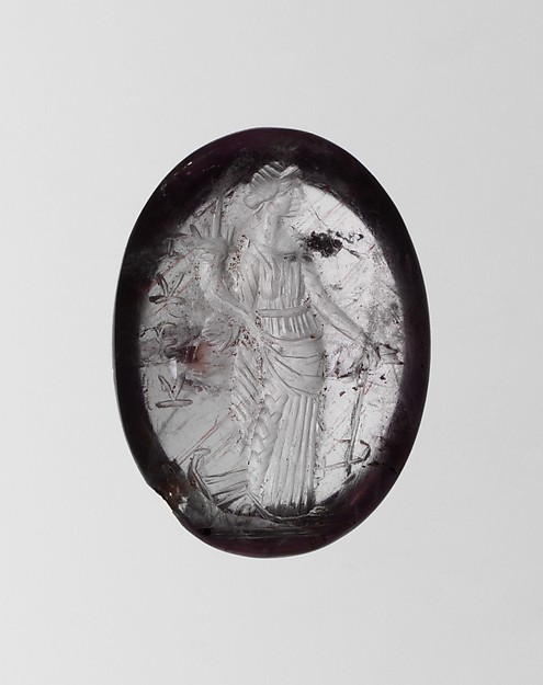 Amethyst ring stone
