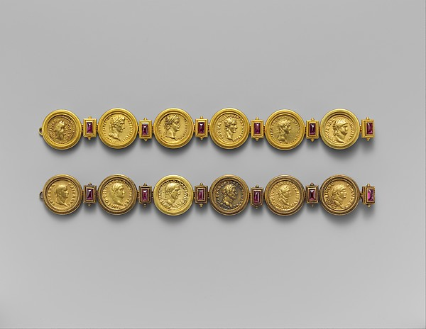 Gold aurei of the Twelve Caesars