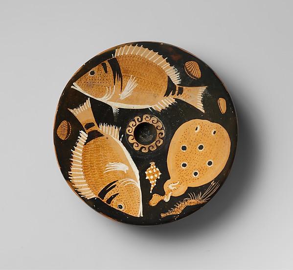 Terracotta fish-plate