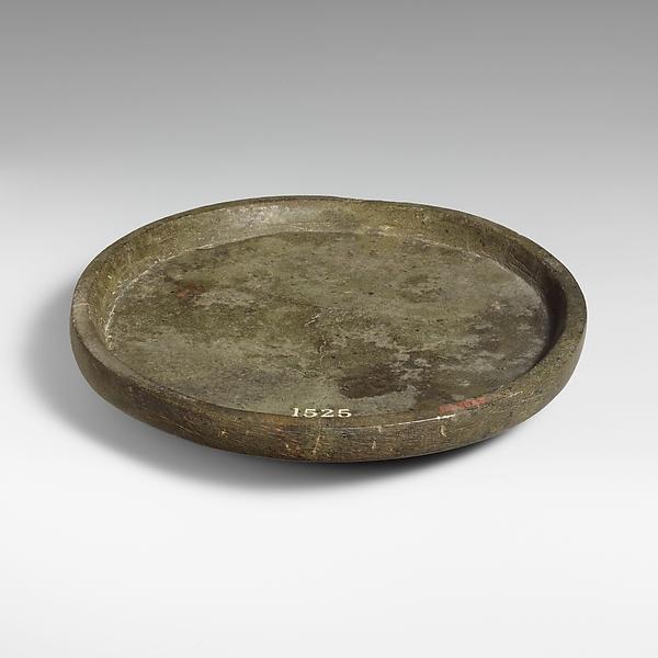 Chlorite mortar or plate