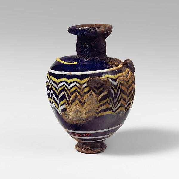 Glass hydriske (perfume bottle)