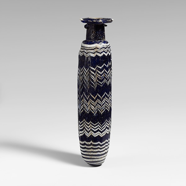 Glass alabastron (perfume bottle)