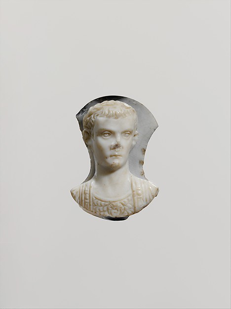 Onyx cameo of the emperor Gaius (Caligula)