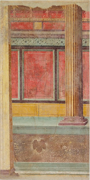 Wall painting from Room F of the Villa of P. Fannius Synistor at Boscoreale