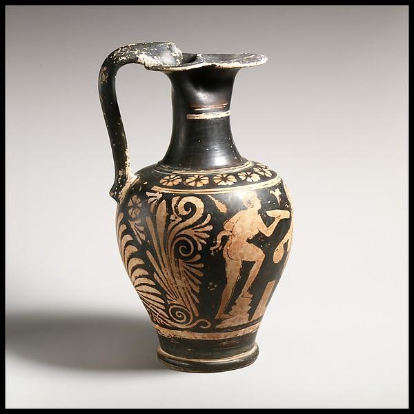 Terracotta oinochoe (jug)