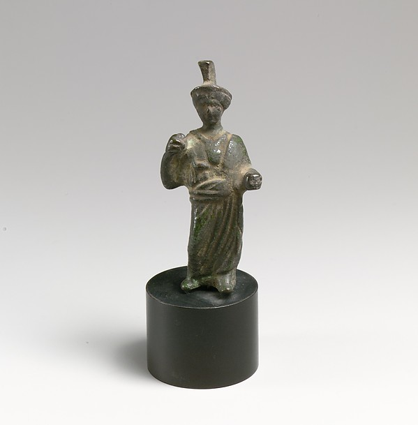 Bronze statuette of Minerva