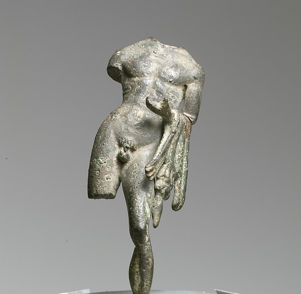 Bronze statuette of Hercle (Roman Hercules)