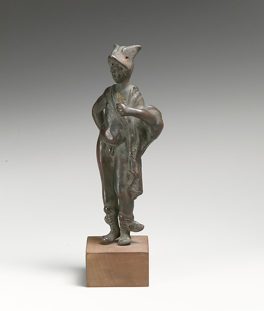 Bronze statuette of Hermes