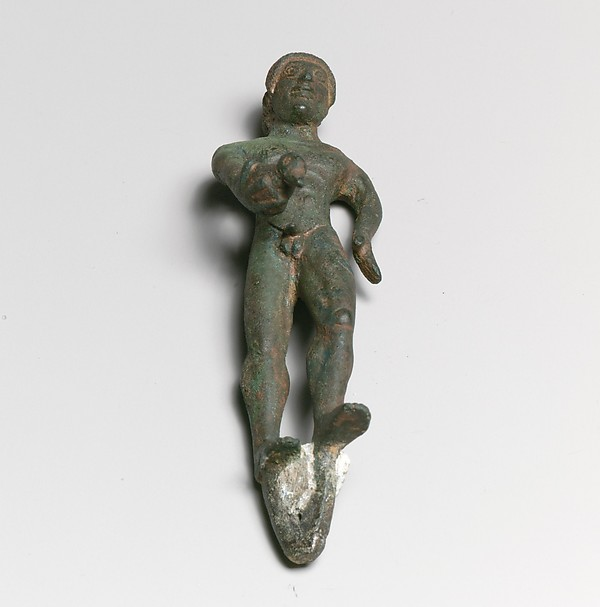 Statuette of a youth with duck