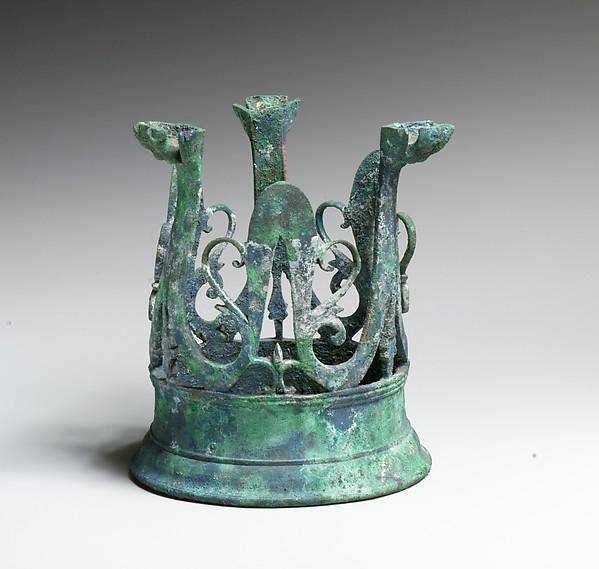 Bronze stand