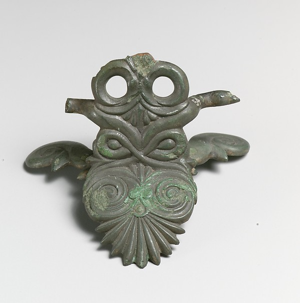 Pair of bronze situla (bucket) handles