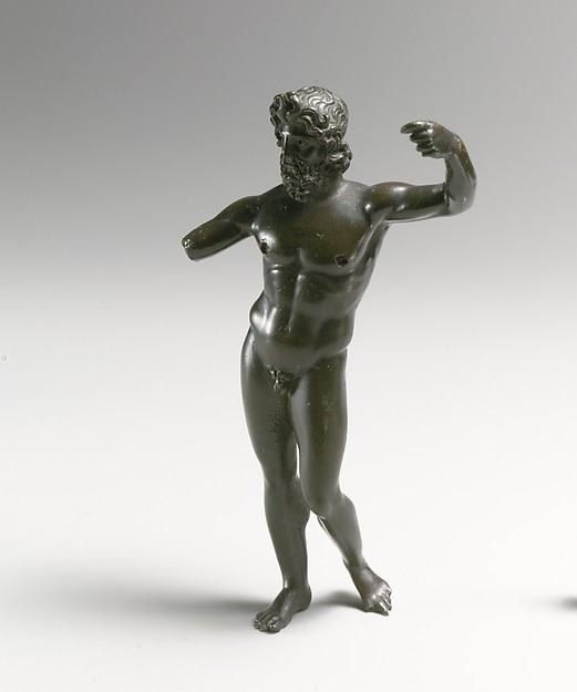 Bronze statuette of Neptune