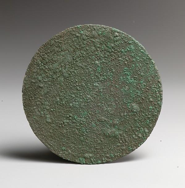 Bronze disk mirror