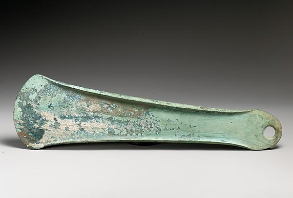 Bronze flanged axe