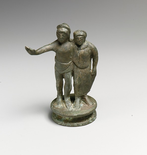 Statuette of a man and woman