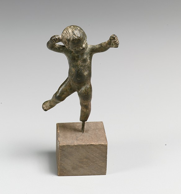 Bronze statuette of Cupid