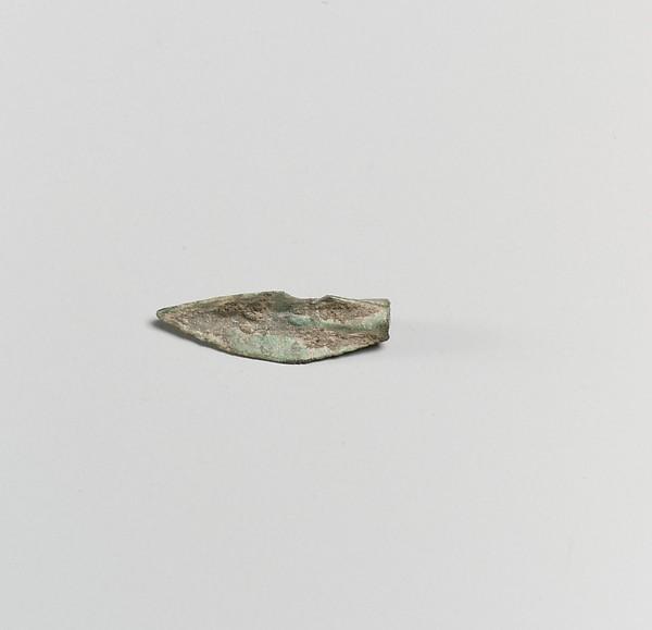 Bronze arrowhead
