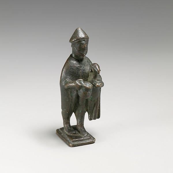 Bronze statuette of a shepherd