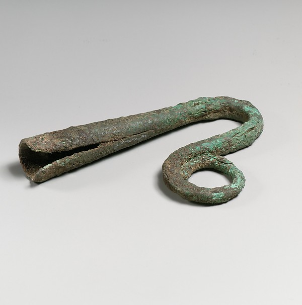 Bronze shepherd's crook