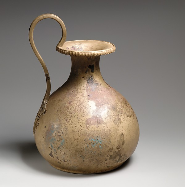 Bronze oinochoe (pitcher)