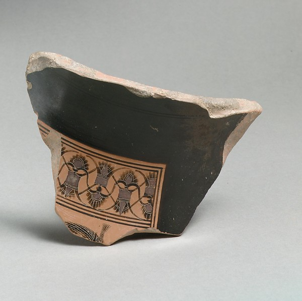 Fragment of a terracotta amphora (jar)