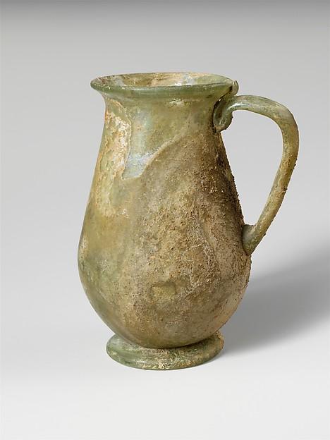 Glass one-handled beaker
