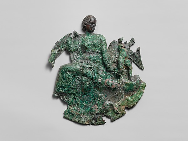 Bronze relief from a mirror