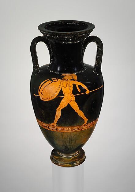 Terracotta Nolan amphora (jar)