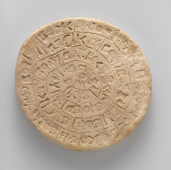 "Reproduction of the ""Phaistos Disk"""