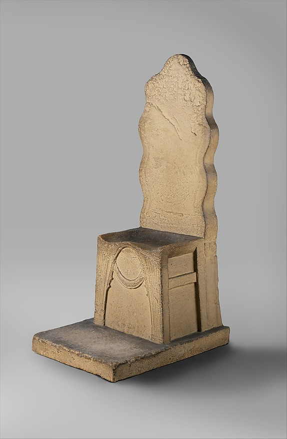 "Reproduction of  the ""Throne of Minos"""