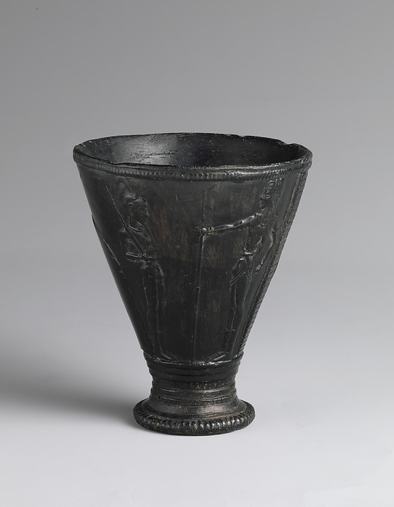 "Reproduction of the stone ""Chieftain Cup"""
