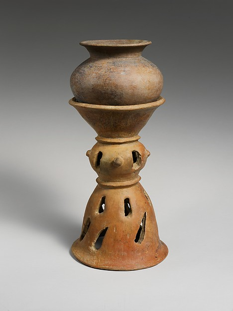 Terracotta holmos (stand)