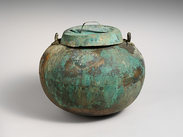 Bronze cauldron