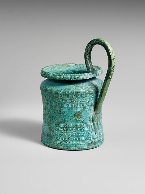 Bronze kyathos (single-handled jug)