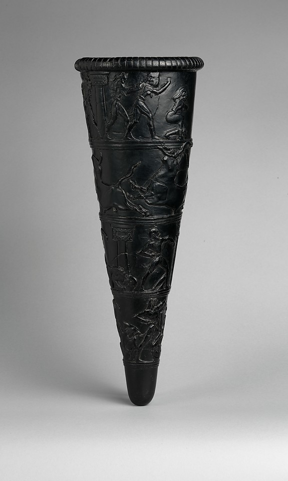 Reproduction of the Boxer Rhyton