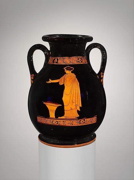 Terracotta pelike (jar)
