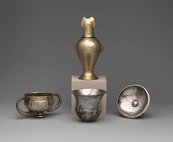 Group of four vases