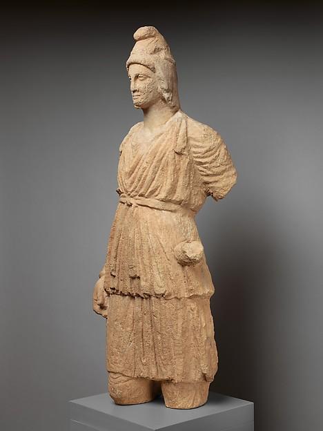 Limestone statue of Artemis Bendis