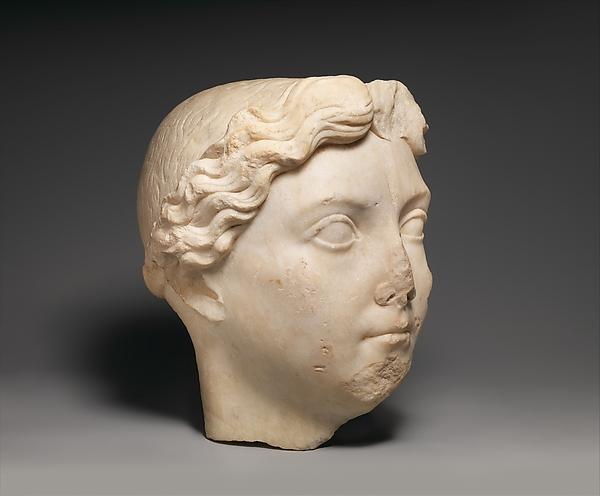 Marble portrait of Livia