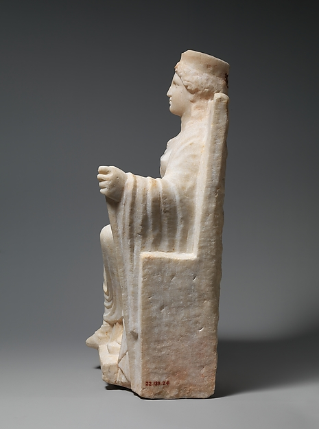 Marble statuette of Kybele