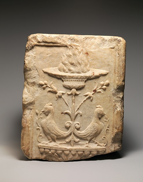 Marble fragment of a pilaster