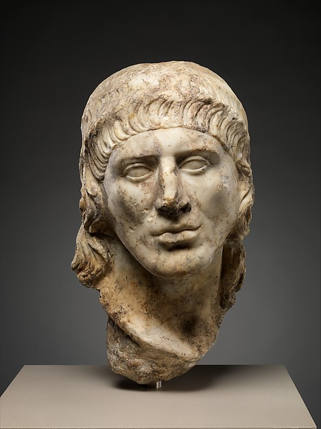 Marble head of a man