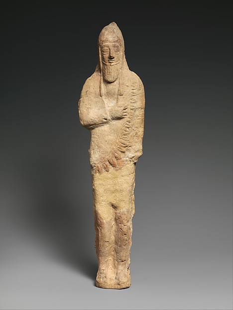 """Standing male figurine of an """"Assyrian"""" type"""