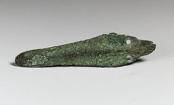 Copper alloy dagger blade