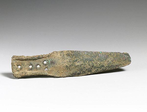 Bronze dagger blade