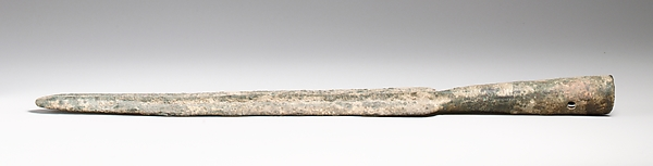 Bronze spearhead
